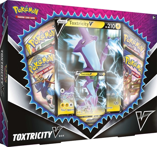 Pokemon Kort - Toxtricity V Box